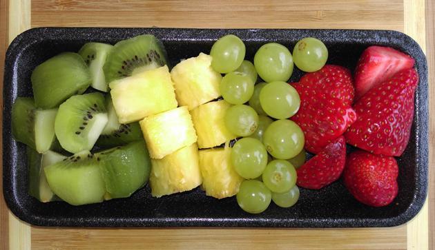 Spirulina Pulver Smoothie Rezept mit Fruchtem