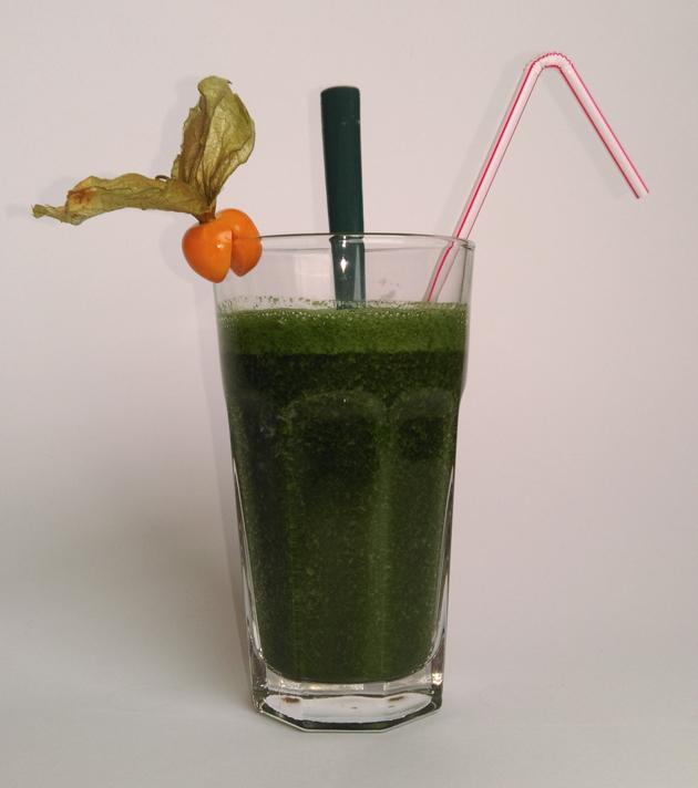 Spirulina Pulver green Smoothie Rezept