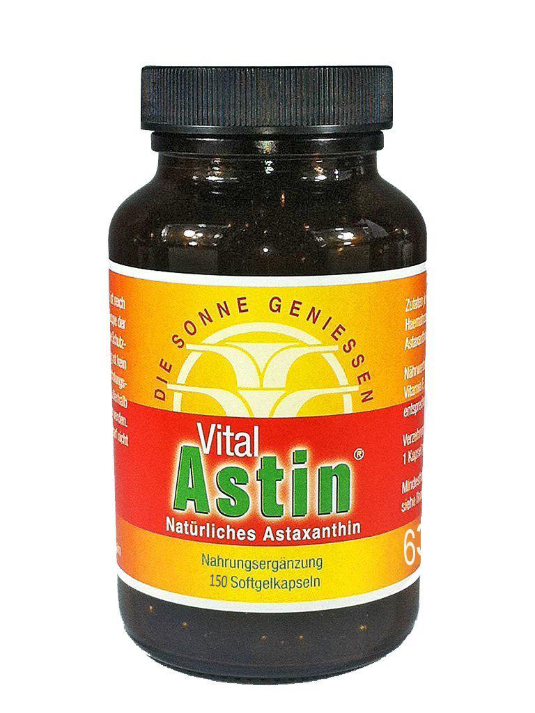 Astaxanthin von Ronald Ivarsson aus ESOvita Shop bei Vergleich ORG Gewinner VitalAstin mit 150 Kapseln mit natürlichem Astaxanthin