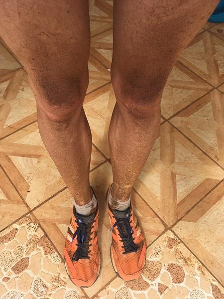 ... und die Belohnung: endlich wieder braune Beine!