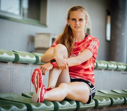 Fabienne Amrhein - ein Stern der deutschen Leichtathletik-Szene