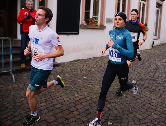 Fabienne Amrhein auf der Strecke in Schriesheim