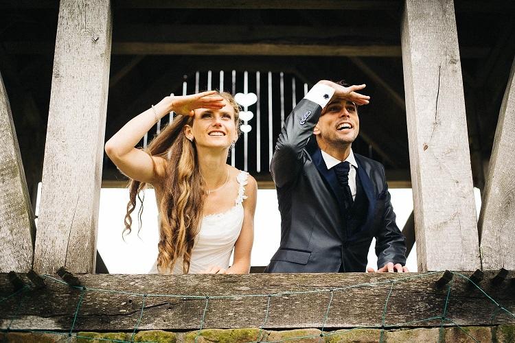 Fabienne Amrhein heißt nun Königstein - ein Bild von Ihrer Hochzeit