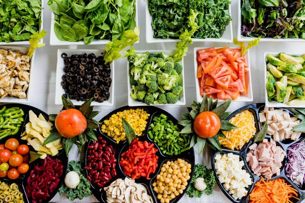 Nährstoffreiche Lebensmittel
